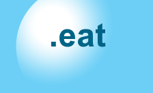 Food Drink Domains Domain - .eat Domain Registration