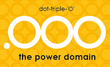 New Generic Domain - .ooo Domain Registration