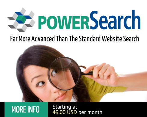 PowerSearch - let your customers find what they are looking for faster and easier!