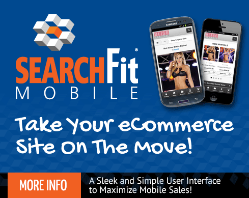 SearchFit Mobile Interface Sleek and Simple To Use feature